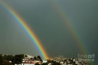 Photograph - Intense Rainbow by Rod Jones