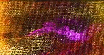Intensity Golden Hue Art Print by L J Smith