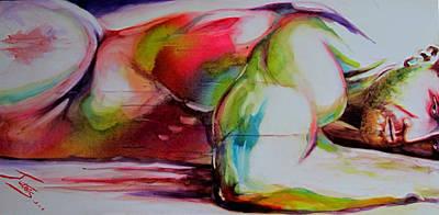 Intensity Art Print by Michel Jutras