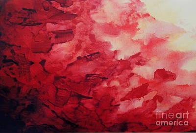 Abstract Art Painting - Intensity by Shiela Gosselin