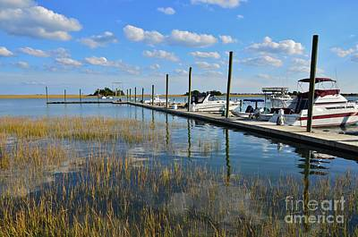 Photograph - Inter Coastal Marina  by Bob Sample