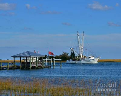 Photograph - Inter Coastal Scene by Bob Sample