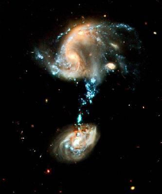 Interacting Galaxies Group Arp 194 Print by Amanda Struz
