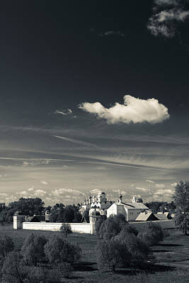 Intercession Convent In Suzdal Art Print by Panoramic Images