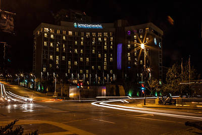 Photograph - Intercontinental Hotel by Sennie Pierson