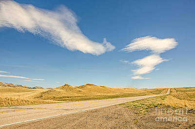 Photograph - Interesting Clouds In Big Sky Country by Sue Smith