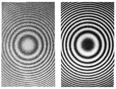 Interference Rings As Length Standards Print by Science Photo Library