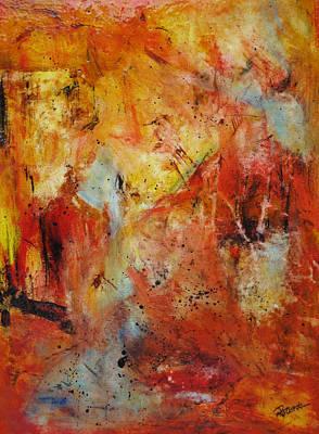 Painting - Interference by Roberta Rotunda