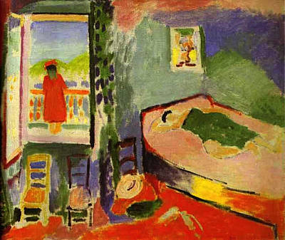 Painting - Interior At Collioure by Henri Matisse