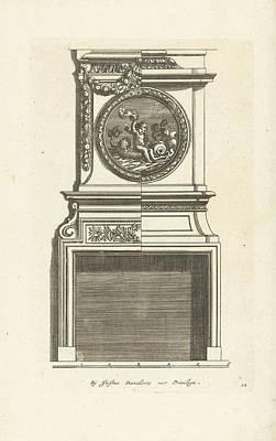 Interior, Decoration, Design, Ornament, Ornamental Print by Jean Lepautre And Justus Danckerts