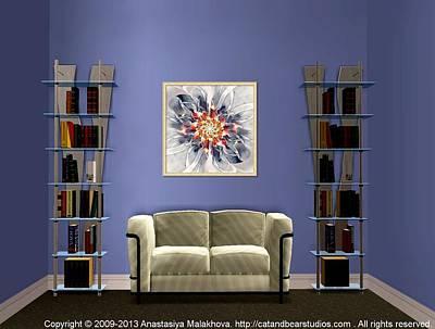 Digital Art - Interior Design Idea - Exquisite by Anastasiya Malakhova
