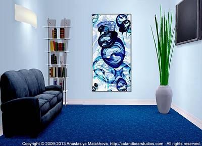 Digital Art - Interior Design Idea - Immiscible by Anastasiya Malakhova