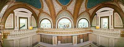 Featured Images Photograph - Interior Detail Of Tiffany Dome by Panoramic Images
