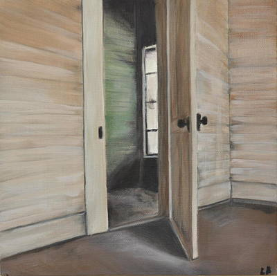 Painting - Interior Doorway by Lindsay Frost