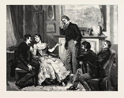 Interior, Engraving 1890 Art Print by Macquoid, Percy (1852-1925), English