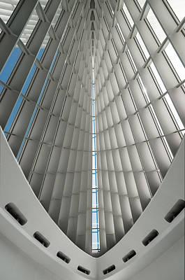 Photograph - Interior Milwaukee Art Museum by Paul Plaine