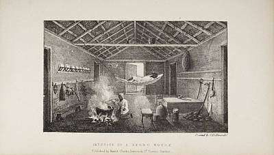 Interior Of A Negro House Art Print