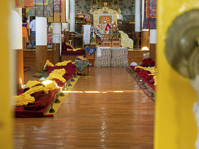 Interior Of First Floor Temple Art Print by Panoramic Images