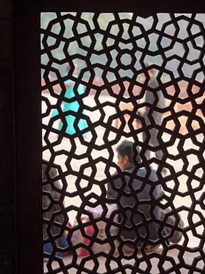 Tomb Photograph - Interior Of Humayun's Tomb, New Delhi by David H. Wells