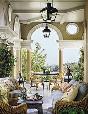 Photograph - Interior Of Luxury Villa by Scott Frances
