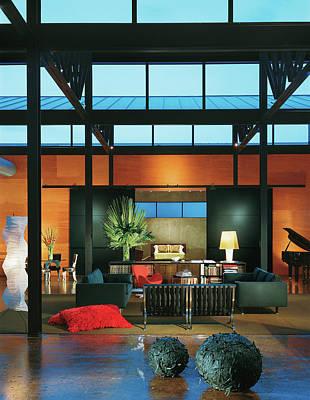Interior Of Modern Living Room Art Print