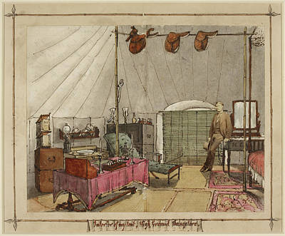 Interior Of My Tent Art Print by British Library