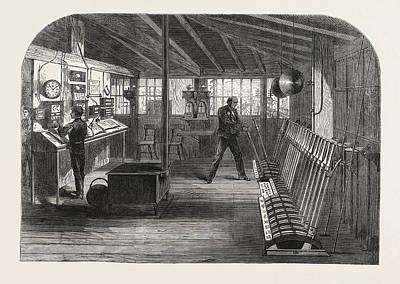 Interior Of The A.b Art Print