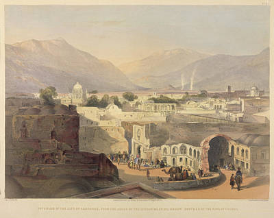 Afghanistan Photograph - Interior Of The City Of Kandahar by British Library