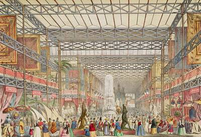 Interior Of The Crystal Palace, Pub Art Print by Augustus Butler