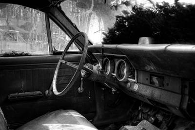 Old Photograph - Interior Of The Past In Black And White by Greg Mimbs