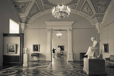 Hermitage Photograph - Interior Of The State Hermitage Museum by Panoramic Images