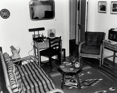 Interior Of Typical House Art Print by Los Alamos National Laboratory/science Photo Library