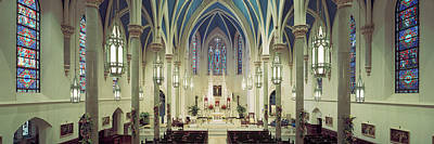 Altar Photograph - Interiors Of A Cathedral, St. Marys by Panoramic Images