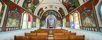 Altar Art Photograph - Interiors Of A Church, Star Of The Sea by Panoramic Images