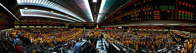 Finance Photograph - Interiors Of A Financial Office by Panoramic Images