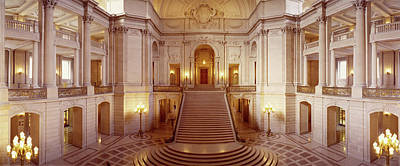 Interiors Of A Government Building Art Print by Panoramic Images