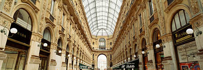 Interiors Of A Hotel, Galleria Vittorio Art Print by Panoramic Images