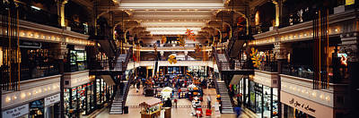 Interiors Of A Shopping Mall, Bourse Print by Panoramic Images