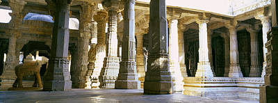 Interiors Of A Temple, Jain Temple Art Print by Panoramic Images