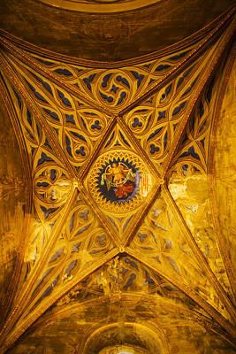 Interiors Of Cathedrale Saint-etienne Art Print