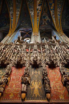 Interiors Of Cathedrale Sainte-cecile Art Print