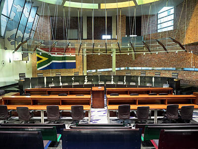 Johannesburg Photograph - Interiors Of Constitutional Court by Panoramic Images