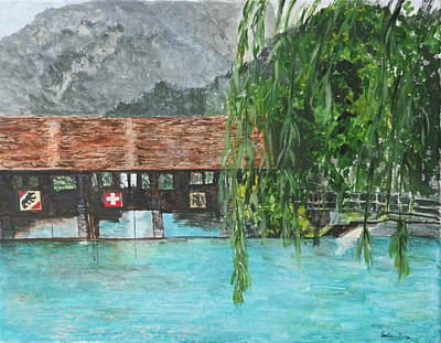Painting - Interlaken  Switzerland by Betty-Anne McDonald