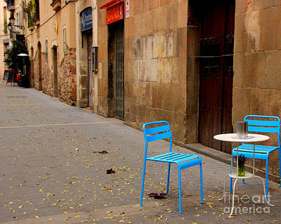 Barcelona Chair Photograph - Interlude by Kris Hiemstra
