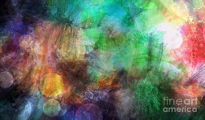 Inner Self Painting - Internal Dialogue by Angelica Smith Bill