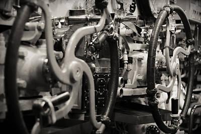 Internal Mechanics Uss Bowfin Art Print by Douglas Barnard