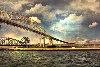 International Bridge Sault Ste Marie Art Print