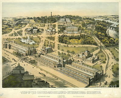 International Exhibition Philadelphia 1876 Art Print