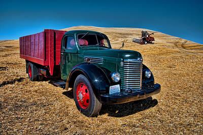 International Farm Truck Art Print