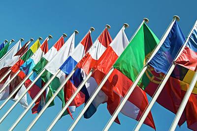 International Flags Art Print